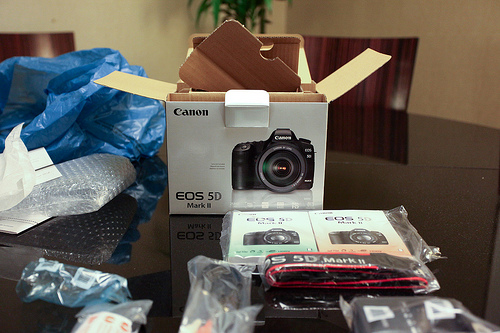 Canon EOS 5D Mark II con Kit 24-105mm IS Lens