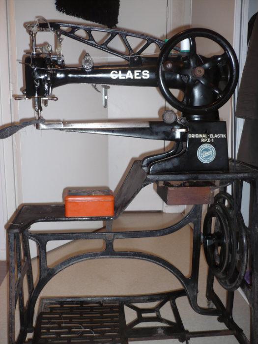 machine a coudre pour cordonier claes
