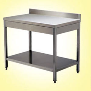Table inox standard et sur mesure