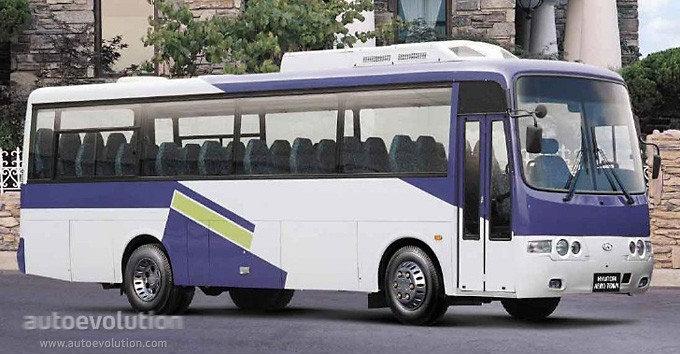Bus Hyundai AeroTown 2002