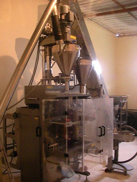 unité de conditionnement et emballage des produits alimentair grain et poudre