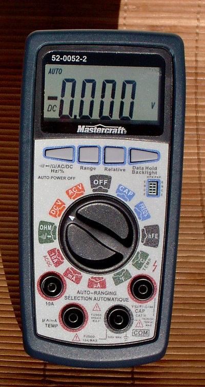 Mastercraft Multimètre Numérique