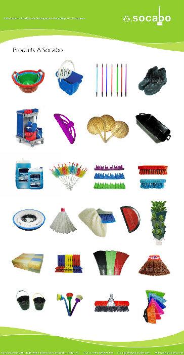 Produits d'Entretien et Recyclage des Plastiques