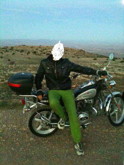 دراجة نارية  جي ام سي