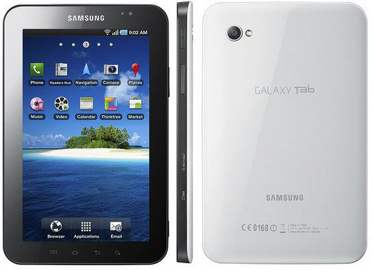 Galaxy Tab p1000 wifi + 3G