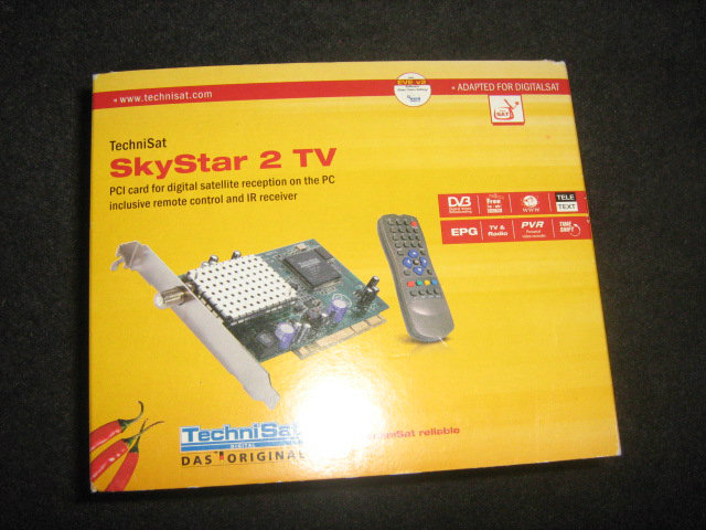 Carte Satellite SkyStar 2
