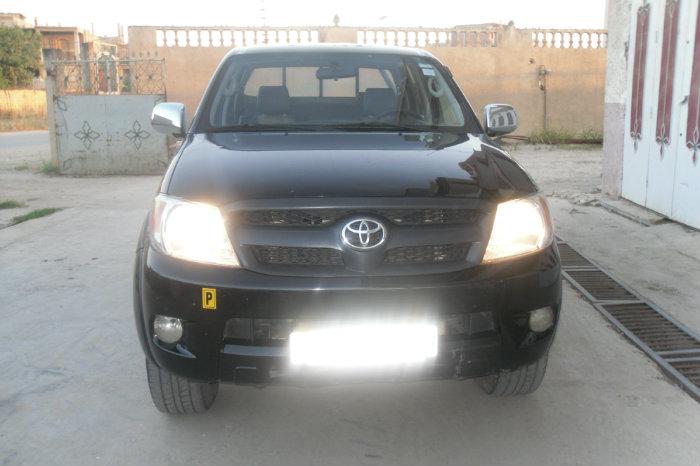 Toyota Hillux 4x4 Double Cabine Noir 2008