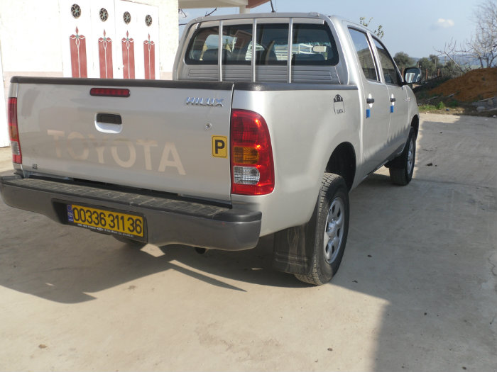 Toyota Hillux 4x4 Double Cabine 2011 Grise