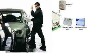 Système Anti VOL et intrusion Maison, Local, Voiture et Autre Guider par Satellite ( Google Maps ) +...