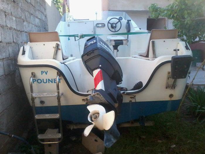 Bateau moteur 70 yamaha