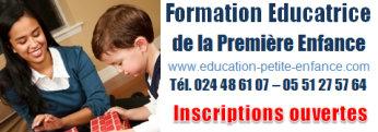 Formation Educatrice de la première enfance