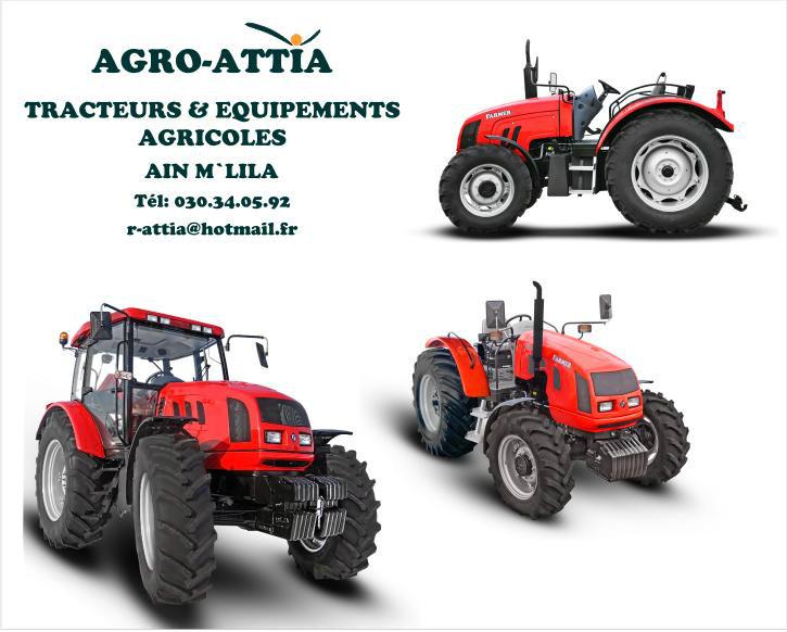 Tracteurs Agricoles FARMER