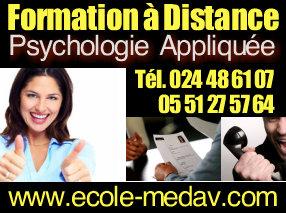 Formation Psychologie Appliquée - Durée : 6 Mois