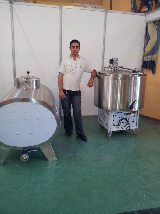 cuve de collecte et de stockage de lait