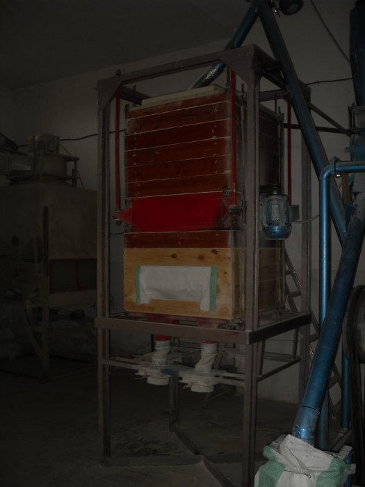 طاحونة القمح الصلب.4 غرابيل.آلة تصفية القمح