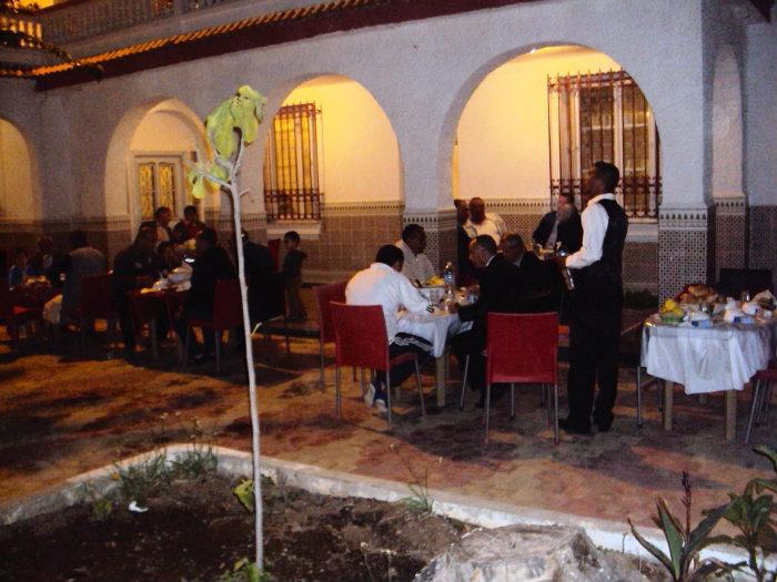 Salle de diner pour fête