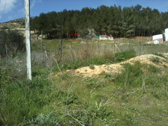 فرصة لا تعوض ارض للبناء مع بئر بالعقد والدفتر العقارى