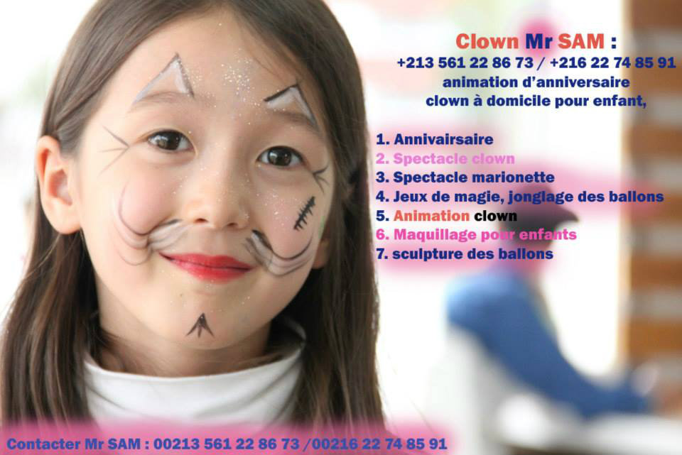 Clown animation anivairssaire alger