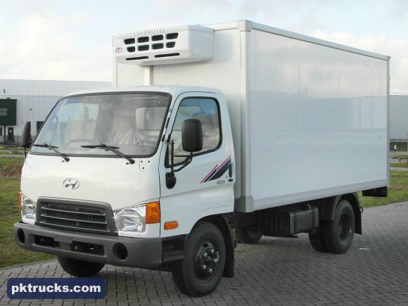 شراكة أو كراء شاحنة تبريد من نوع هونداي HD 65 بالسائق