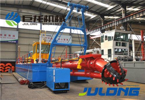 Bateau de dragage Hydraulique diesel