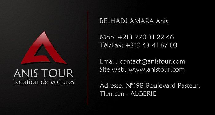 Agence Location de voitures ANISTOUR Tlemcen et Oran
