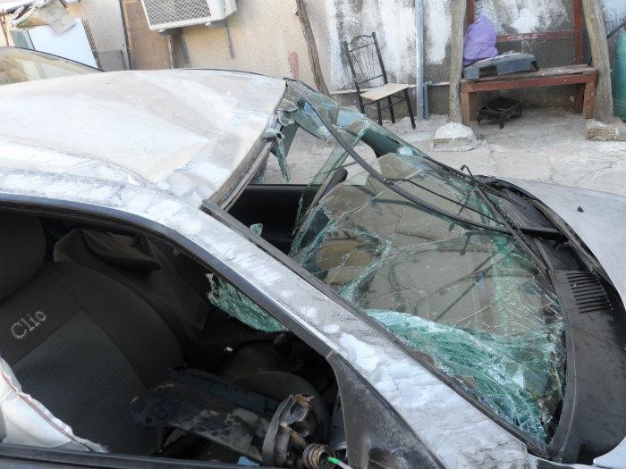 Clio campus accidentée