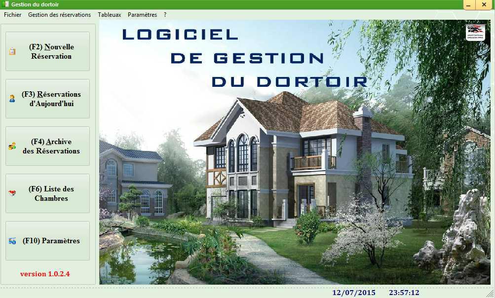 LOGICIEL DE GESTION DU DORTOIR