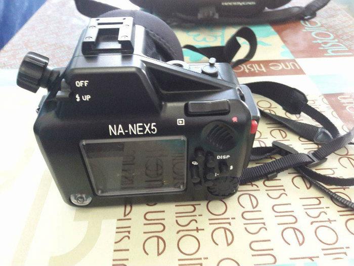 Sony nex-5 + caisson