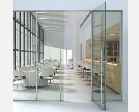 Porte et porte fenêtre en verre
