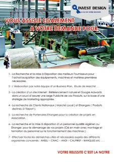 Consultant en investissement industriel