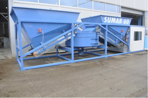 Mobile concrete plant Sumab K 60