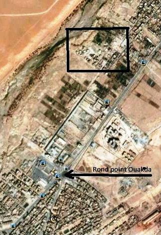 Terrain 800 M2 cloture Ouakda