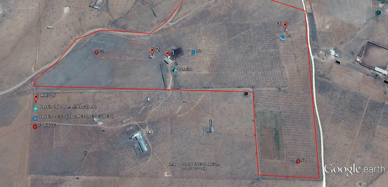 أرض فلاحية 21 هكتار بدفتر عقاري