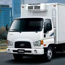 كراء شاحنة تبريد من نوع هونداي HD65 ( بالسائق ) أو شراكة عمل