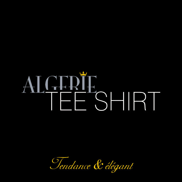 T-shirt personnalisé - Algérie