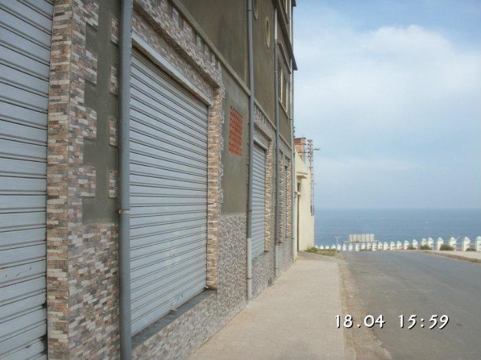 Local de 250M2 très bien situè a 5Mn du port de MOSTAGANEM