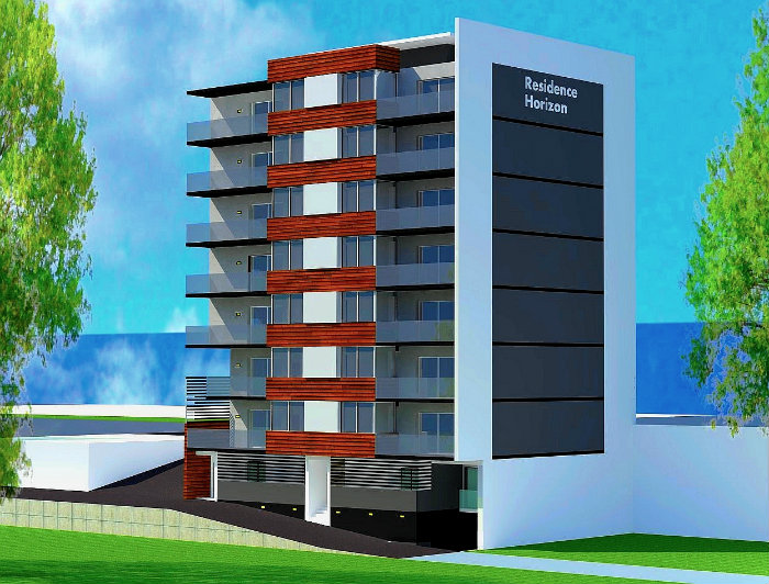 RESIDENCE HORIZON projet de promotion immobilière HORIZON à OULED FAYET