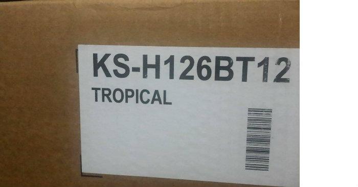 climatiseur marque LG KS-H126BT12