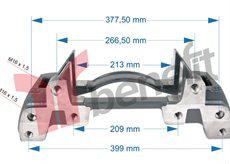 قطع غيارات الفرامل للشاحنات caliper repair kits