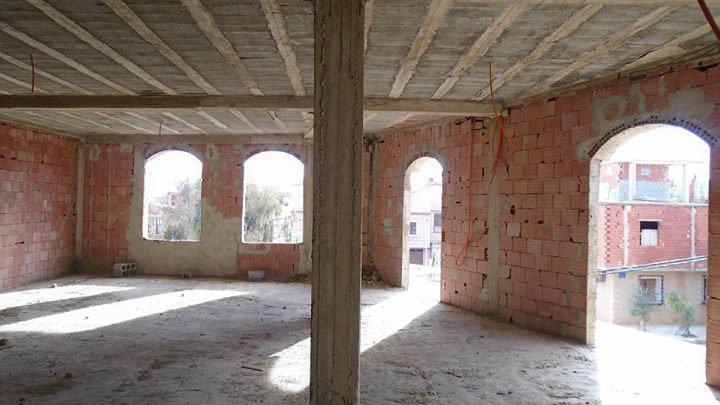 Maison en construction surface 225 m²