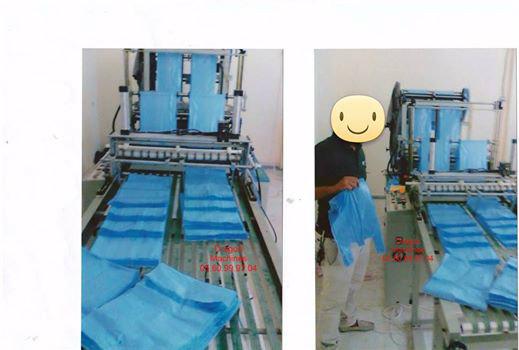 Nouvelle mise en marche Machine de sachet en plastique
