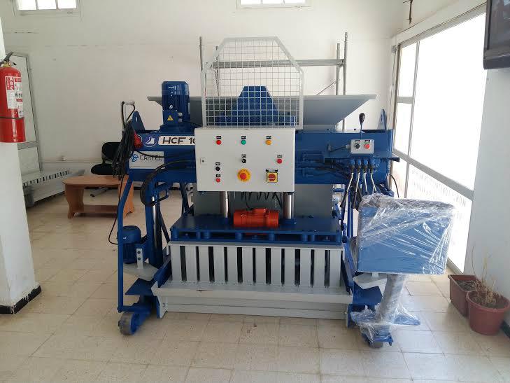 آلات صناعة الطوب الخرساني