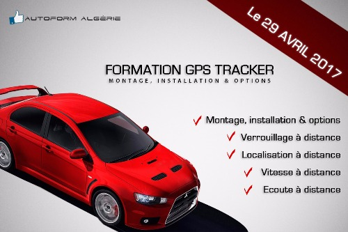 Formation GPS TRACKER