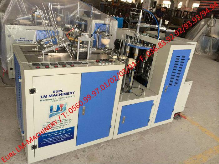 Importateur Machines Automatique de Goblet en papier JBZ