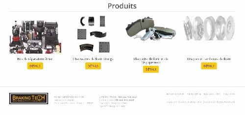 Freins et pieces de freins de rechange pour poids lourds, camions, bus, utilitaires
