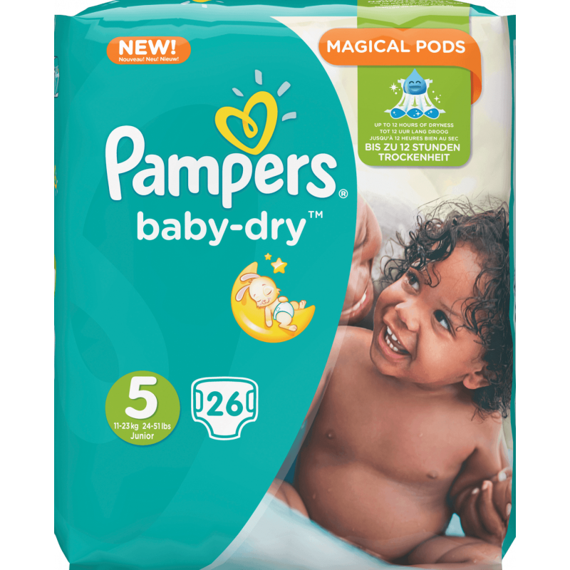 PAMPERS BABY DRYf