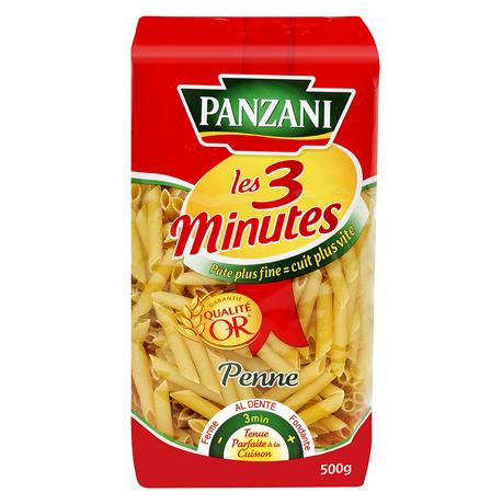 Pates Panzani 3 min