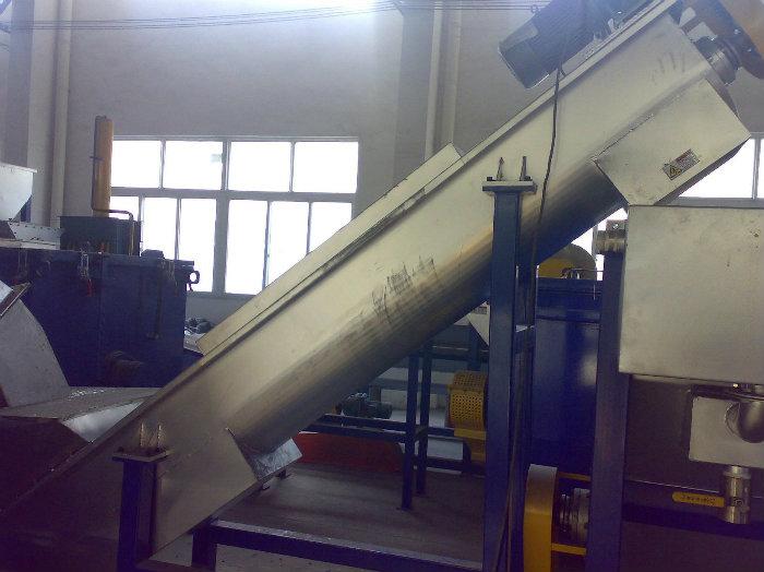 آلة إعادة تدويرالبلاستيك 300 كجم / ساعة   MACHINE DE RECYCLAGE DE PLASTIQUE PET300kg/h