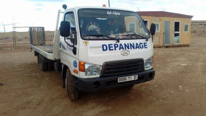 Camion dépanneur Hyundai HD72