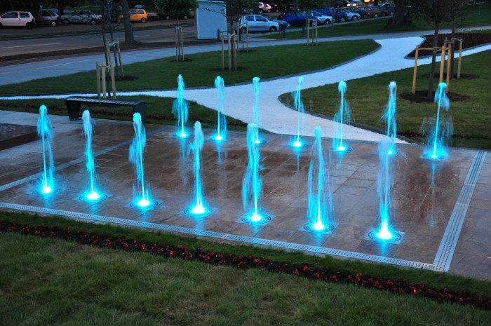 conception et realisation de fontaine et jet d'eau